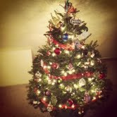 I personally like our tree better. :)